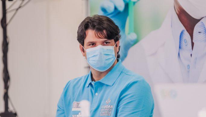 Leo Bezerra destaca importância de aplicativo da PMJP para agilizar vacinação contra a Covid-19