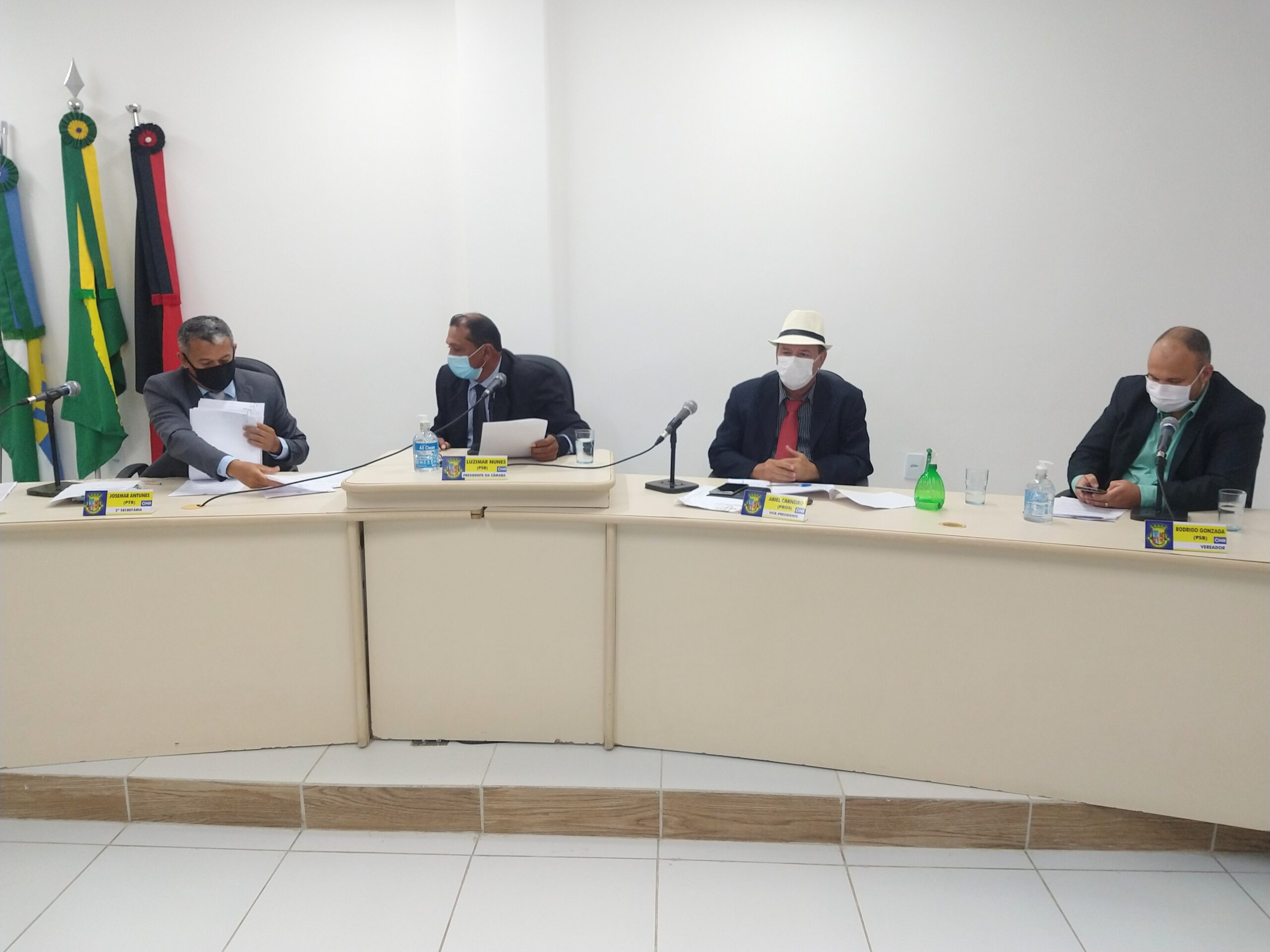 Câmara Municipal de Conde realizou atividades parlamentares nesta segunda-feira (12)