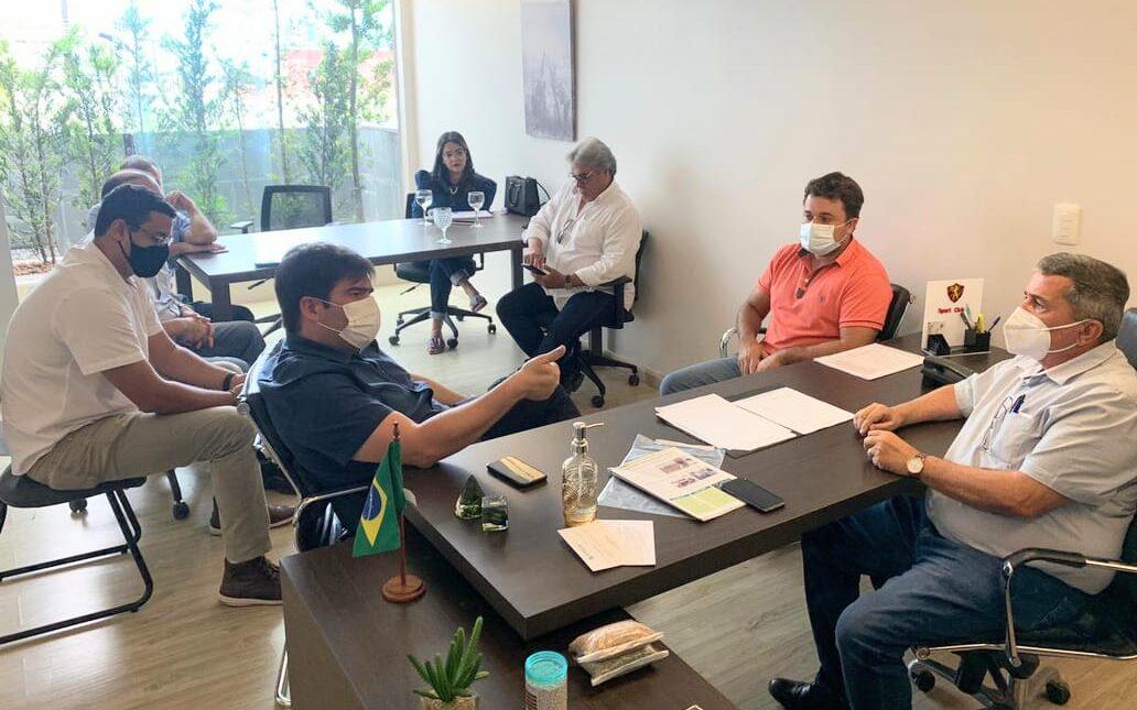 Eduardo Carneiro se reúne com Presidente da Associação de Plantadores de Cana da Paraíba